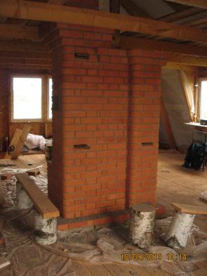 кирпичная печь 2 этаж